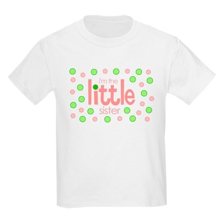 little sister t-shirt polkadot Kids Light T-Shirt
