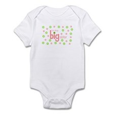 big sister t-shirt polkadot Infant Bodysuit
