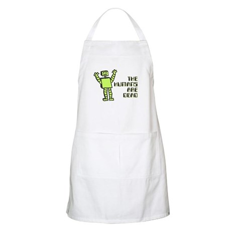 The Humans Are Dead Apron