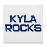 kyla rocks Tile Coaster