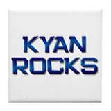 kyan rocks Tile Coaster