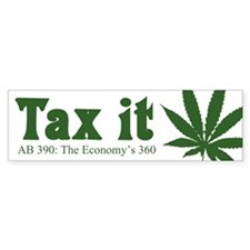 AB 390 Tax me Bumper Sticker (10 pk)