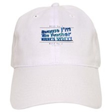 Funny School education Baseball Cap