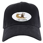 """I Dig Earth"" Black Cap"