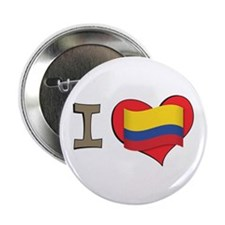 "I heart Colombia 2.25"" Button"