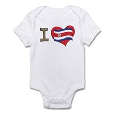 I heart Costa Rica Infant Bodysuit