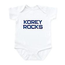 korey rocks Infant Bodysuit
