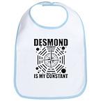 Desmond Is My Constant Bib