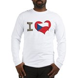 I heart Czech Long Sleeve T-Shirt