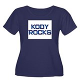 kody rocks Women's Plus Size Scoop Neck Dark T-Shi