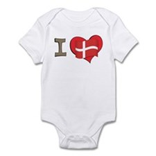 I heart Denmark Infant Bodysuit
