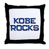 kobe rocks Throw Pillow