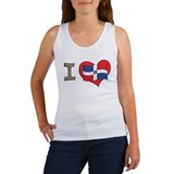 I heart Dominican Republic Women's Tank Top