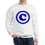 Copyright Symbol Sweatshirt