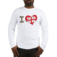 I heart Georgia Long Sleeve T-Shirt