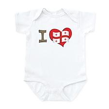 I heart Georgia Infant Bodysuit