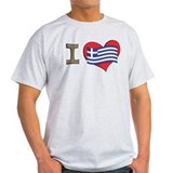 I heart Greece T-Shirt