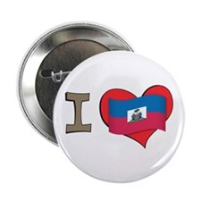 "I heart Haiti 2.25"" Button"
