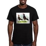 Dark Aseels Men's Fitted T-Shirt (dark)