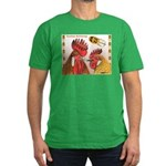 Sicilian Buttercup Chickens Men's Fitted T-Shirt (