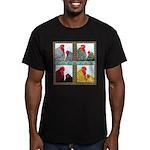 Cochins! Men's Fitted T-Shirt (dark)
