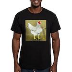Cornish/Rock Cross Hen Men's Fitted T-Shirt (dark)