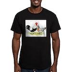 Dorking Chickens Men's Fitted T-Shirt (dark)