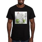 Self Blue Hen Men's Fitted T-Shirt (dark)