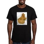 English Trumpeter Deroy Men's Fitted T-Shirt (dark