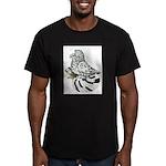 English Trumpeter Light Splas Men's Fitted T-Shirt