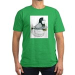 English Trumpeter Opal Bald Men's Fitted T-Shirt (