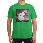 Pageant Champion Pigeon Men's Fitted T-Shirt (dark