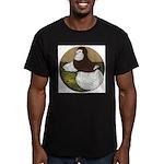 Baldhead English Trumpeter Men's Fitted T-Shirt (d
