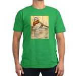 Mealy English Trumpeter Pigeo Men's Fitted T-Shirt