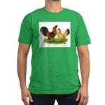 Nankin Bantams Men's Fitted T-Shirt (dark)