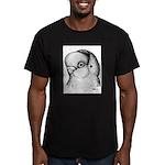 Reinaugen Pigeon Men's Fitted T-Shirt (dark)