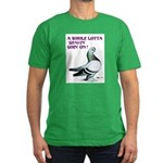 Shaking Berliner Men's Fitted T-Shirt (dark)