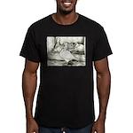Texan Pioneer Pigeons Men's Fitted T-Shirt (dark)