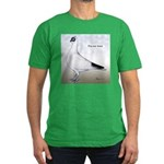 Polish Shortface Pigeon Men's Fitted T-Shirt (dark