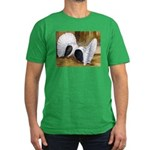 Saddle Fantails Men's Fitted T-Shirt (dark)