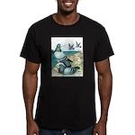 Rock Doves Men's Fitted T-Shirt (dark)