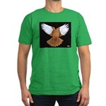 Domestic Flight Pigeon Men's Fitted T-Shirt (dark)