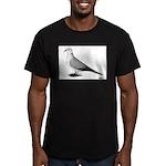 Ringneck Dove Standard Men's Fitted T-Shirt (dark)