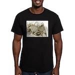 Frillback Pigeons Men's Fitted T-Shirt (dark)