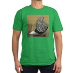 Teager Flight Men's Fitted T-Shirt (dark)