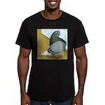 Barred Domestic Flight Men's Fitted T-Shirt (dark)