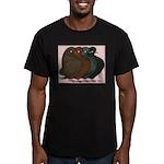 Domestic Show Flights Men's Fitted T-Shirt (dark)
