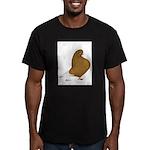 Yellow Domestic Flight Men's Fitted T-Shirt (dark)