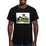Creme Brabanter Chicks Men's Fitted T-Shirt (dark)
