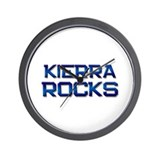 kierra rocks Wall Clock